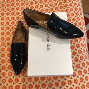 Calvin Klein black loafers
